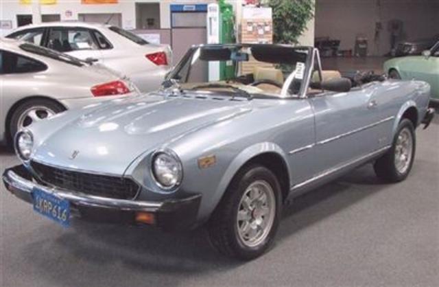1984 Fiat Pininfarina Convertible