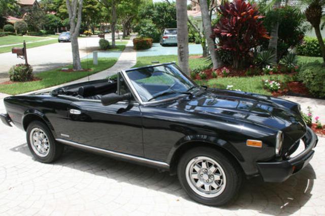 1985 Fiat Spider Pininfarina