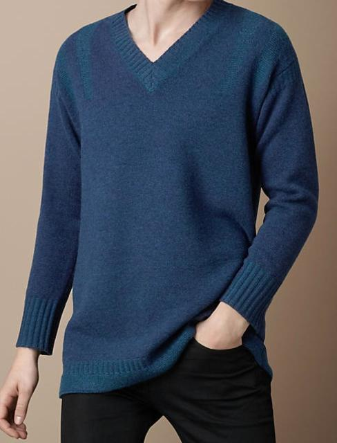 Burberry Cashmere Guernsey Sweater
