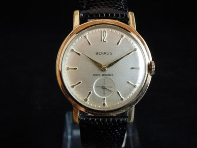 1960s Vintage Men's Benrus Watch