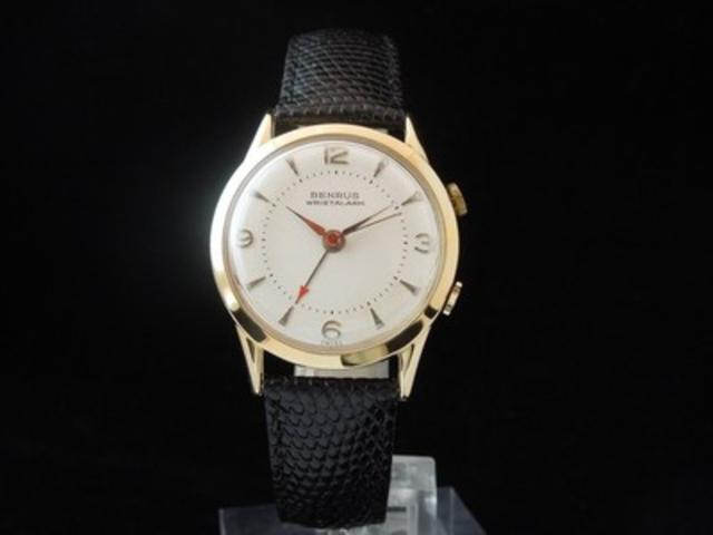 1960s Vintage Men's Benrus Wristalarm Watch
