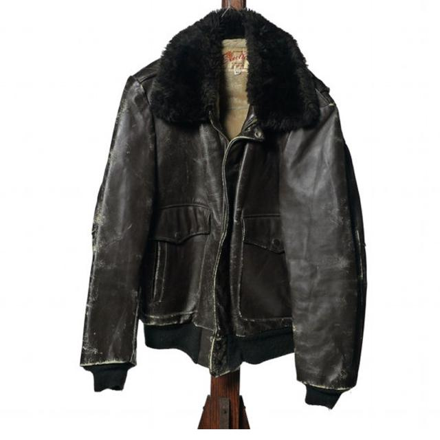 Excelled Leather Bomber Jacket