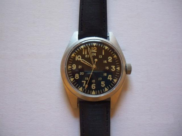 Benrus 1969 Military Issue Wristwatch