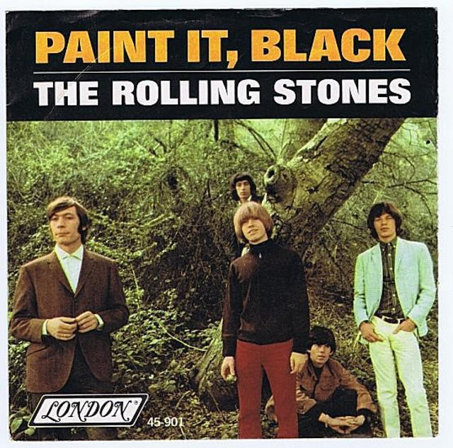 Rolling Stones <i>Paint It, Black</i> 45""