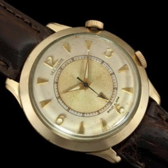 1956 Jaeger Lecoultre  Memovox Wristwatch
