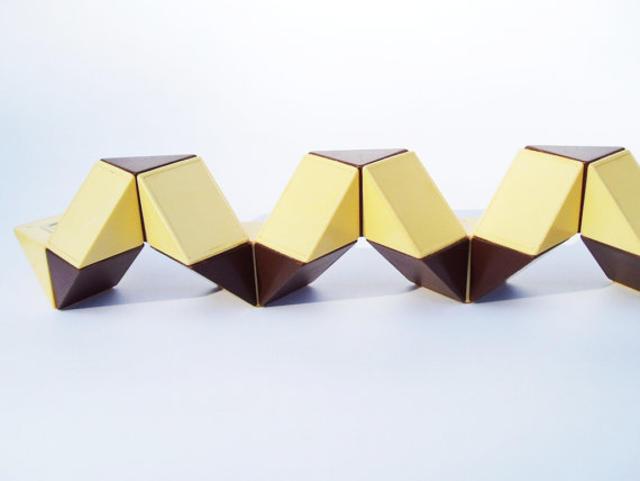 Angular Rubik&rquo;s Cube Soviet Toy