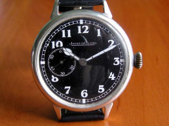 Black WWII Military Wristwatch