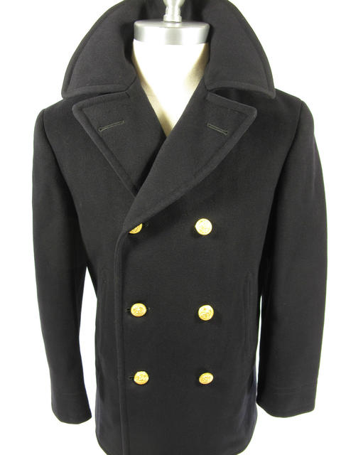 1960s US Navy Peacoat