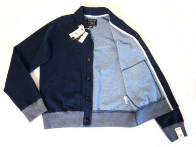 Shaw-Collar Fleece Cardigan