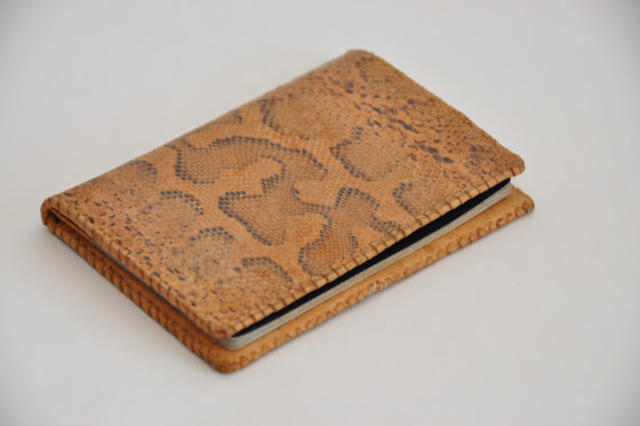 Snakeskin Passport Cover