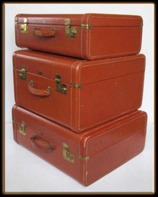 Three-Piece Hard Luggage Set