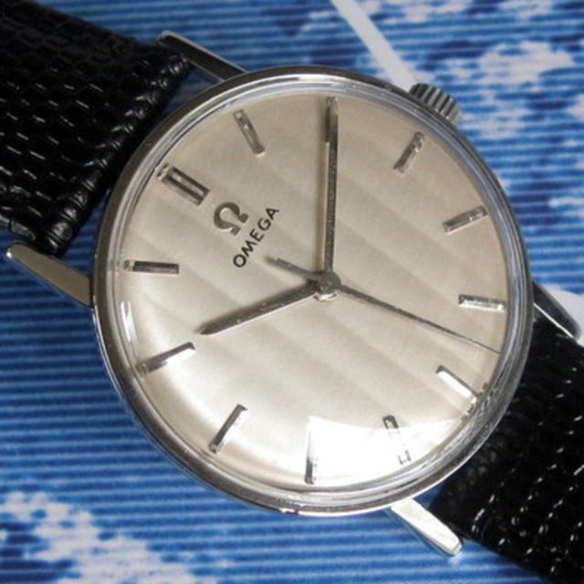 1962 Ridged Dial 600 Caliber Stainless-Steel Watch