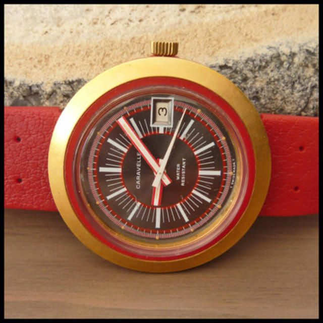 1971 Red Diver Watch