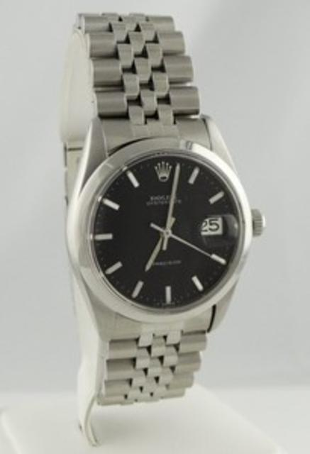 Vintage 1971 Oyster Date Precision Stainless Steel Watch