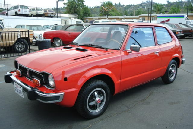 1977 Civic CVCC Hatchback