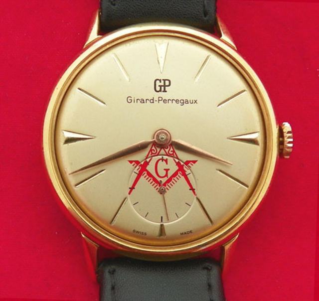Vintage Golden Dial Watch