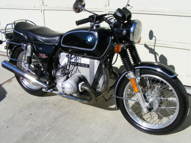 R75 Motorcycle