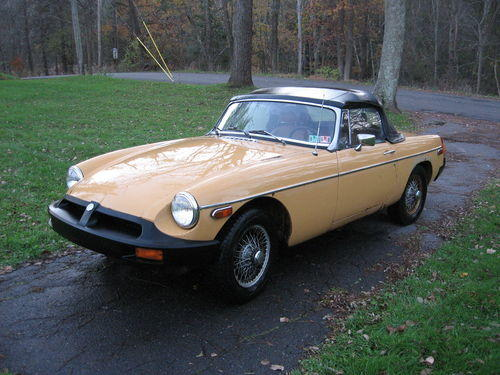 1971 MGB Convertible