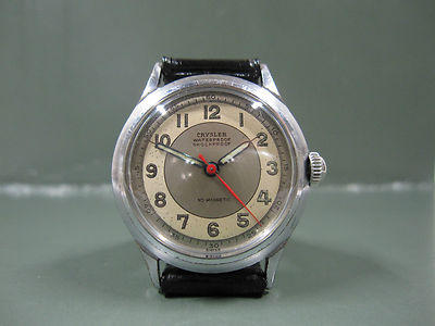 Two-Tone Dial Watch