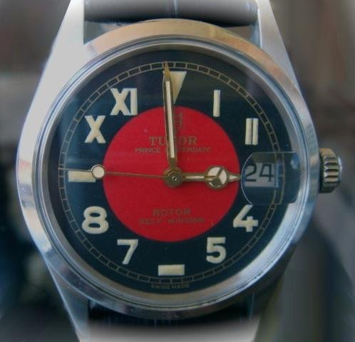 Tudor Black Dial Automatic Watch