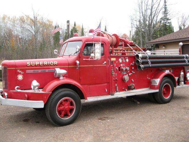1953 FWD Fire Truck