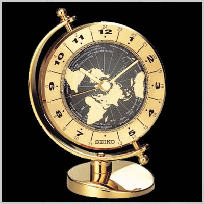 Global Time Desk Clock