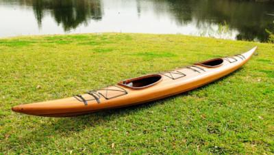 19' Tandem Cedar Kayak