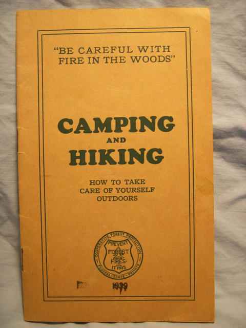 <i>Camping Hiking & Fire Safety Guide</i>