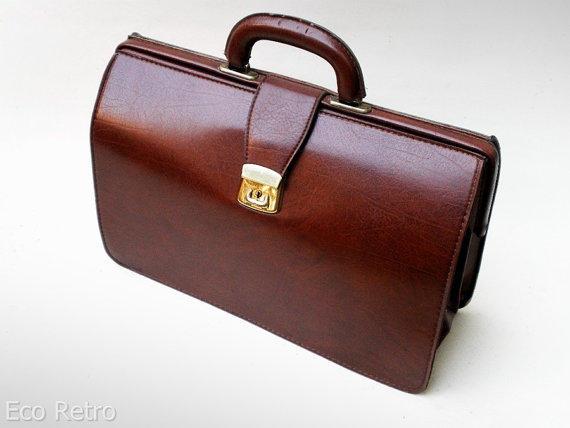 Vintage Expanding Briefcase