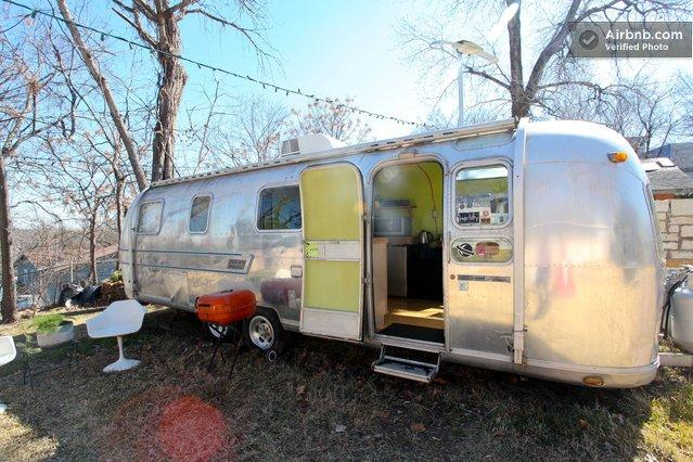 Remodeled Airstream in Austin, TX