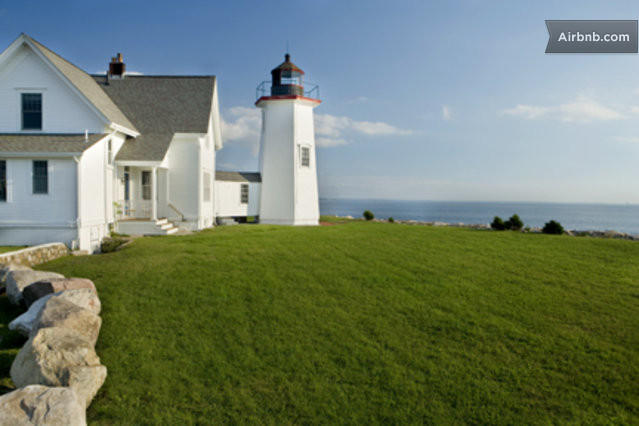 Wings Neck Lighthouse in Pocasset, MA