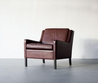 Danish Leather Armchair