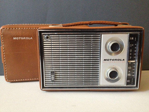 1966 All 8 Portable Radio