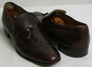 Brown Wing-Tip Loafers