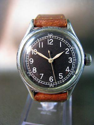 Vintage WWII Military Watch