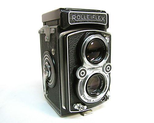 1951 Rolleiflex Automat Camera