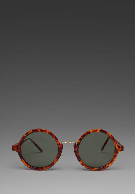 Hip Rounders Sunglasses in Brown