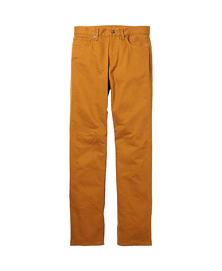 Straight-Leg Color Jeans