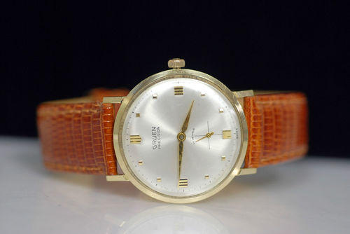 Vintage 14K Yellow Gold Wristwatch