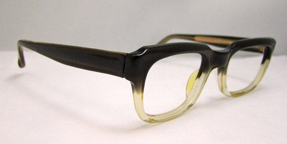 Vintage Two-Tone Eyeglass Frames