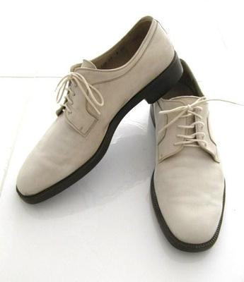 Vintage White Oxfords