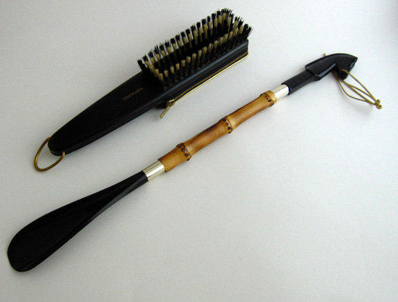 West German Grooming Kit and Shoehorn