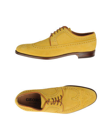 Goldenrod Lace-Up Shoes