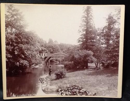 Central Park Photograph by A. Loeffler, c. 1890s