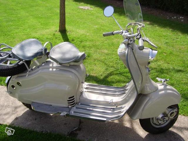 Lambretta 125 LD 1956