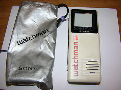 Vintage Watchman Handheld TV