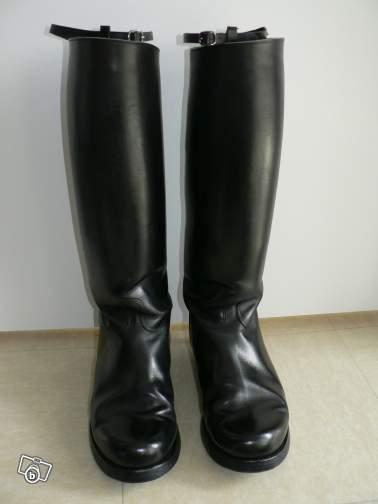 J.M. Weston Biker Boots