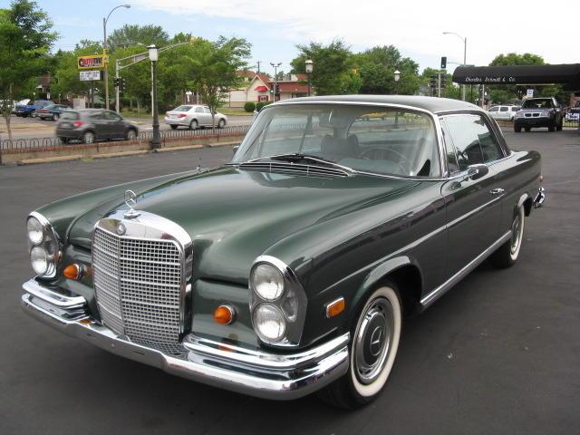 1969 280SE Opera Coupe