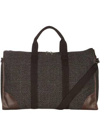 Checked Large Holdall
