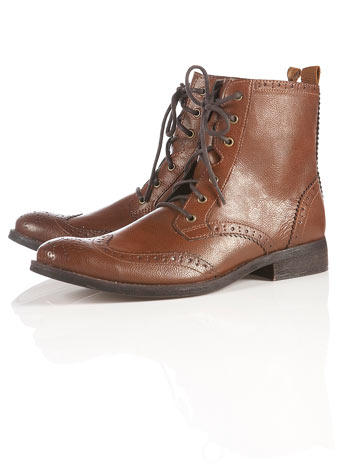 """Preston 2"" Brogue Boots"